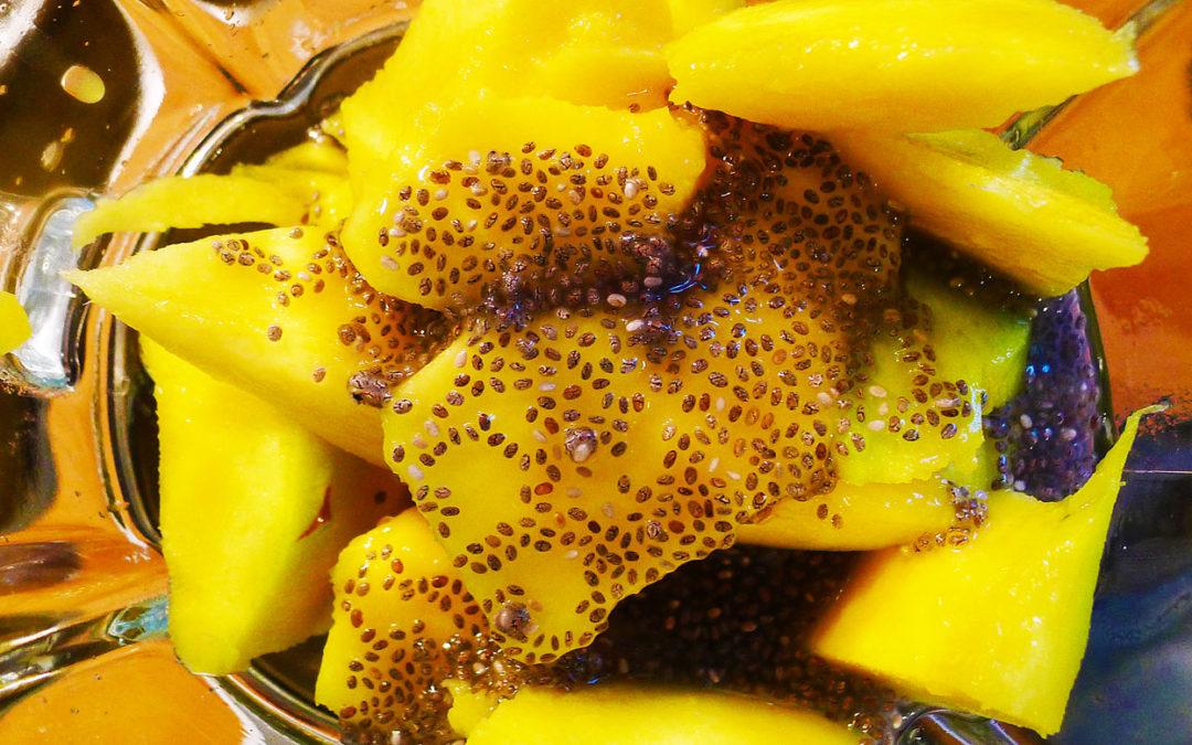 Smoothie jar digestivo chía-mango