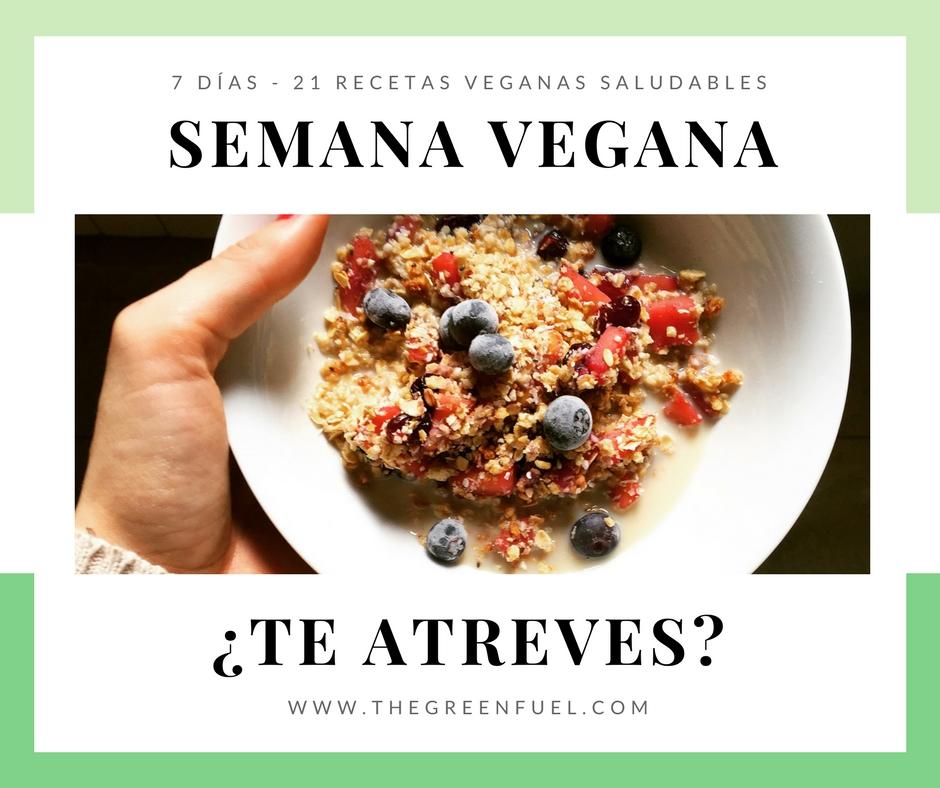 semana vegana