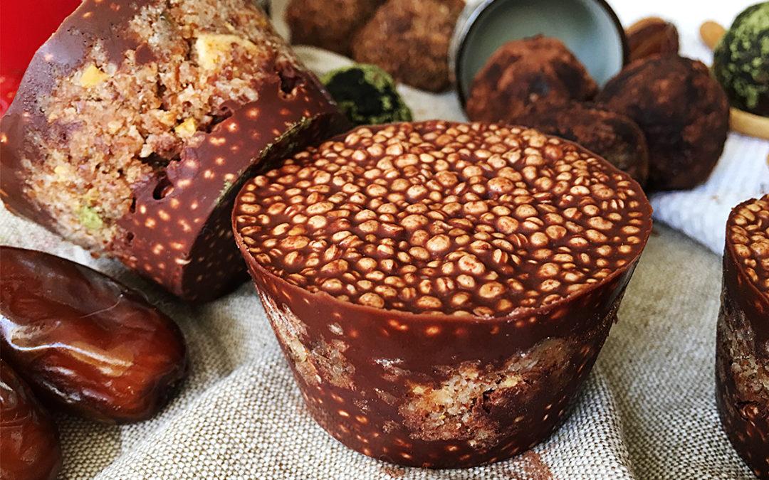 Bocaditos de quinoa y manzana