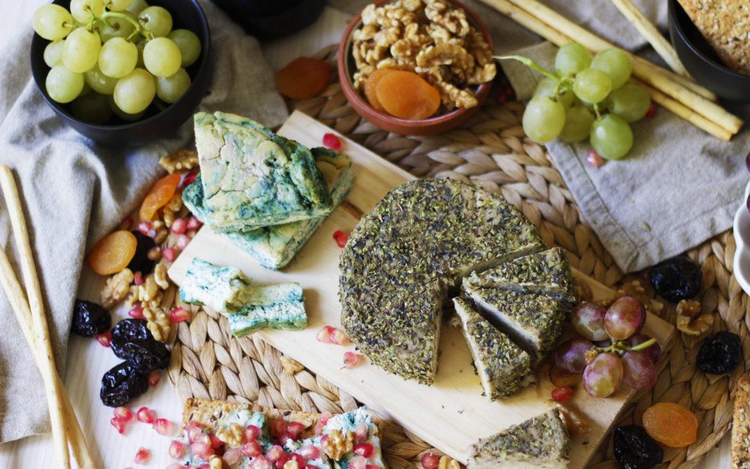 Cómo hacer quesos veganos curados
