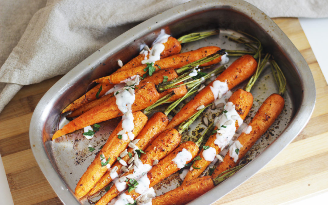 Zanahorias asadas especiadas