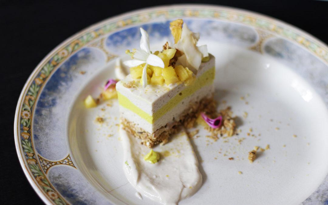 Raw Cheesecake Tepache de Piña
