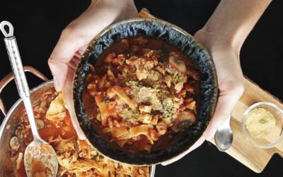 Sopa de lasaña One Pot