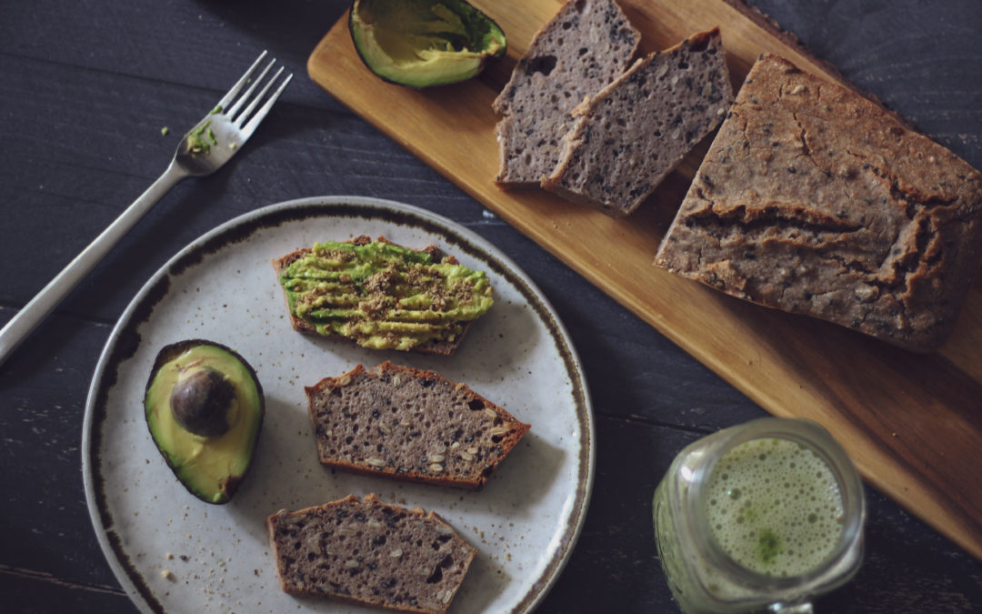 Pan fácil de trigo sarraceno y semillas
